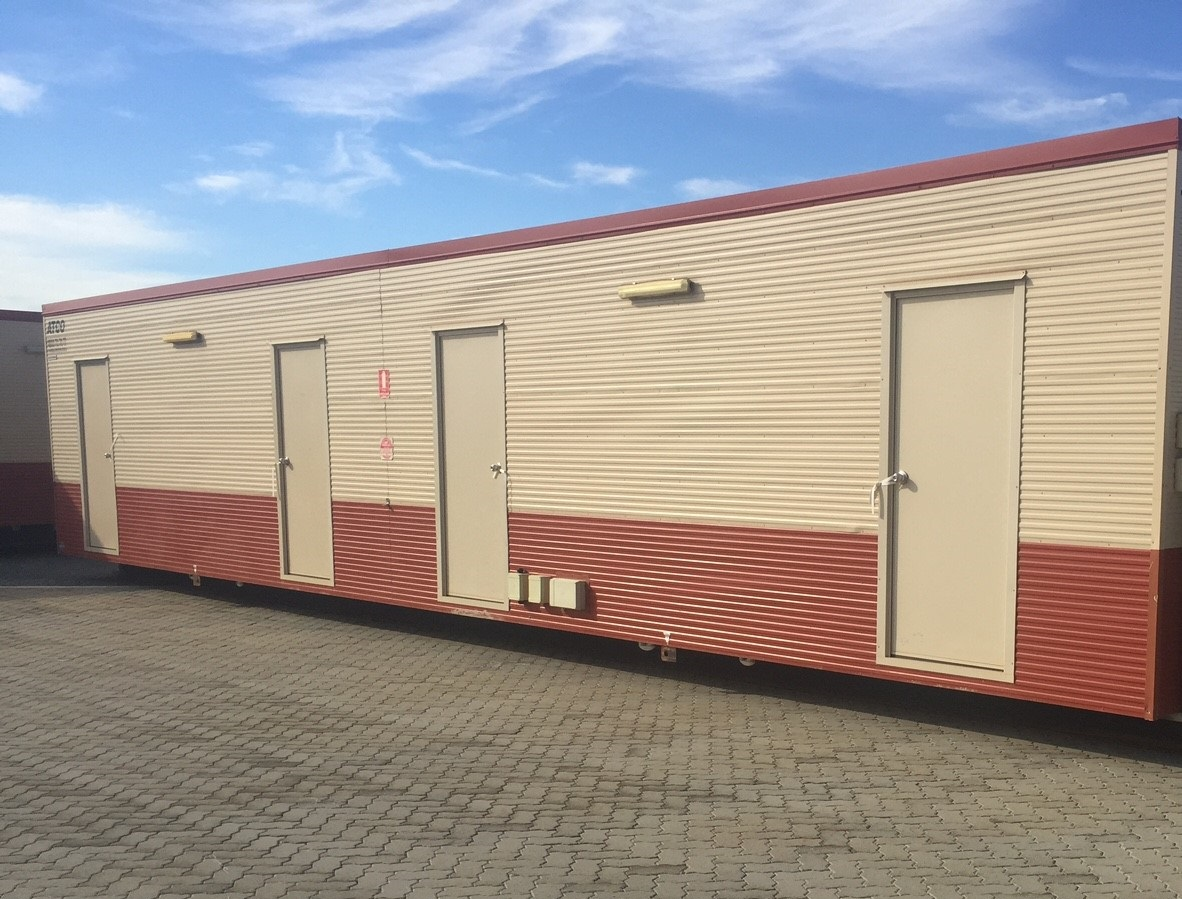 Mining workers transportable accommodation
