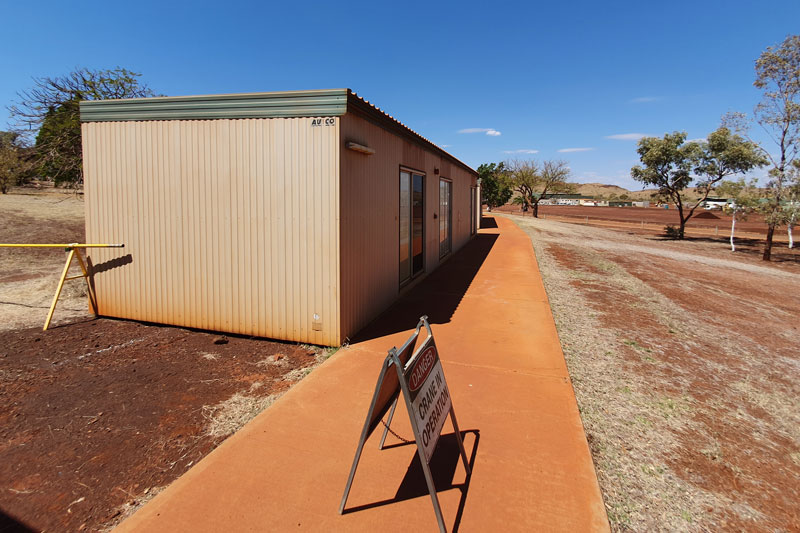 Ausco Region D Concrete Base 3 Bedroom Buildings