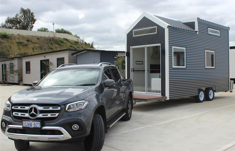 Tiny homes can literally be towed almost anywhere