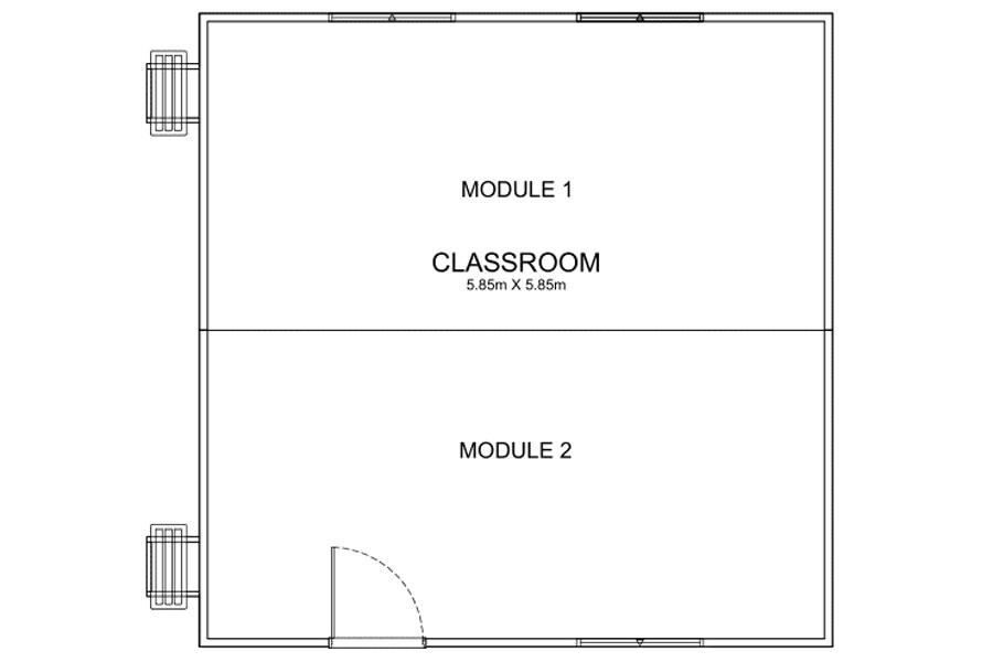 6m Long Classroom