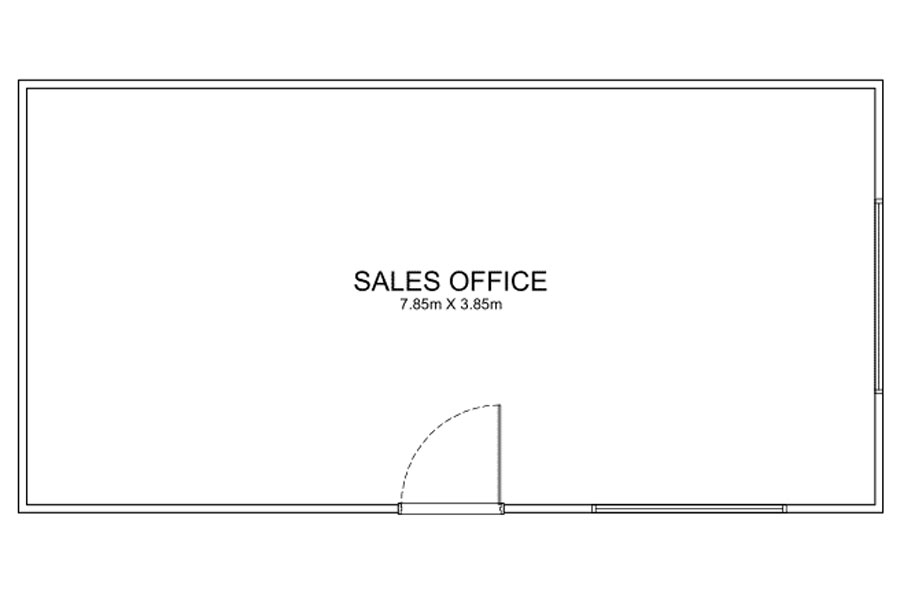 8m Long Offices