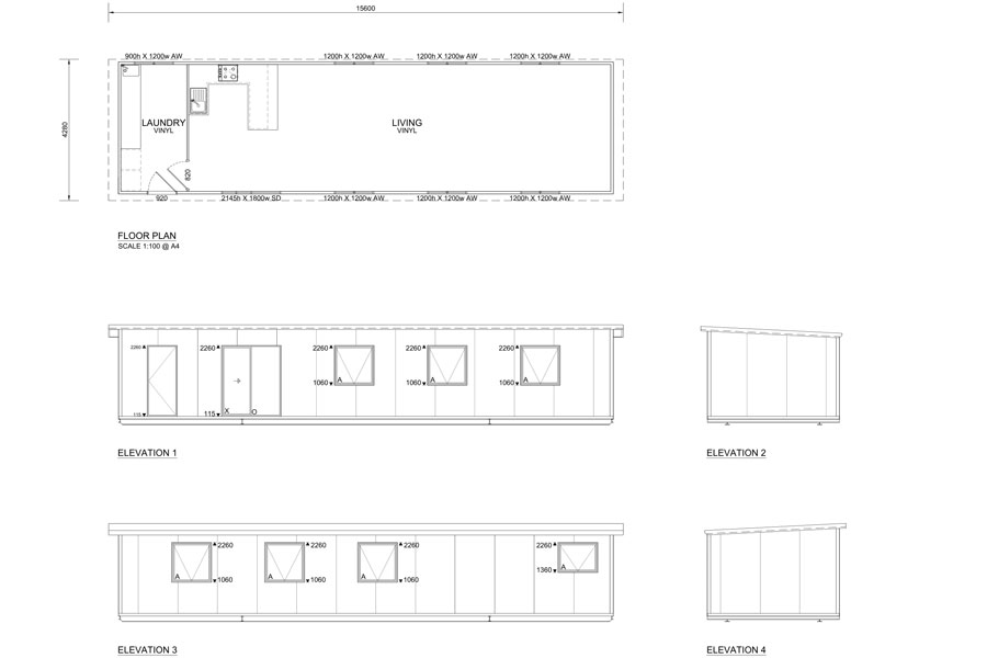 16.5m Long Commercial Kitchens