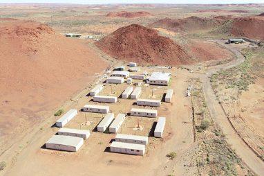 Kintyre 54 Man Mining Camp