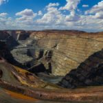 View of Super Pit in Kalgoorlie