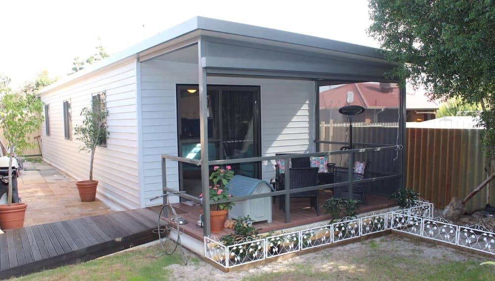 A Granny Flat - can also be used for rentals or for adult children who want to live on their own.
