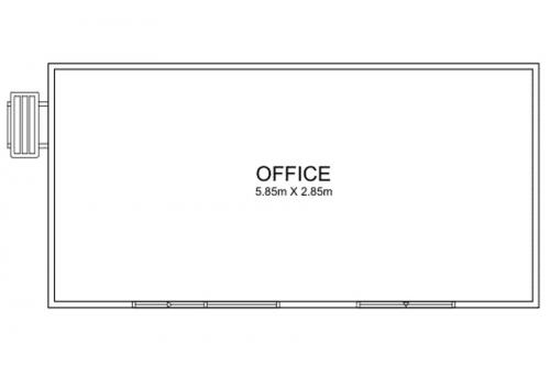 6m Long Offices